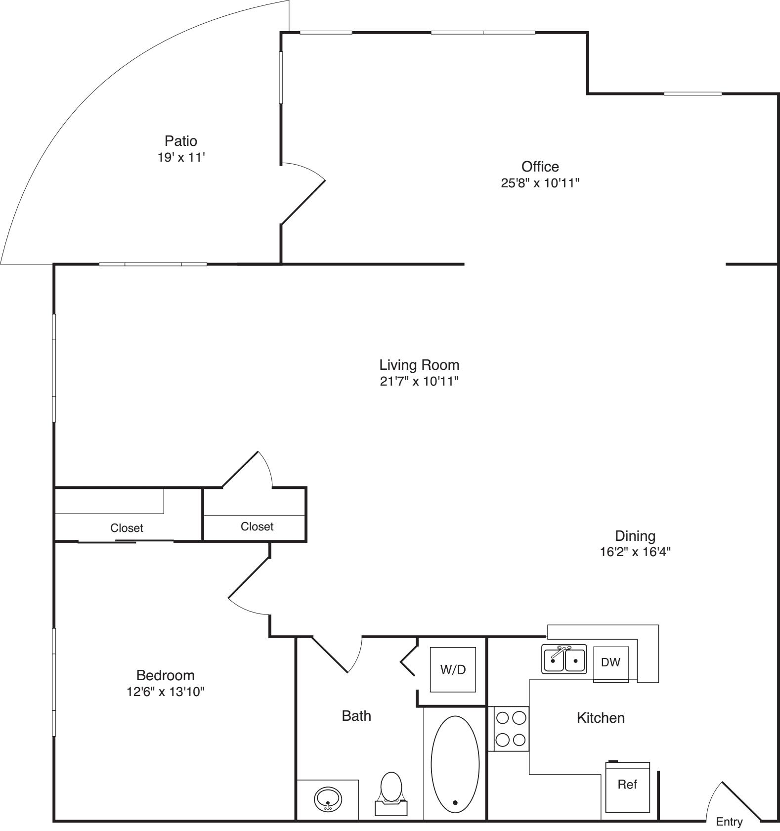Large Studio -(L)