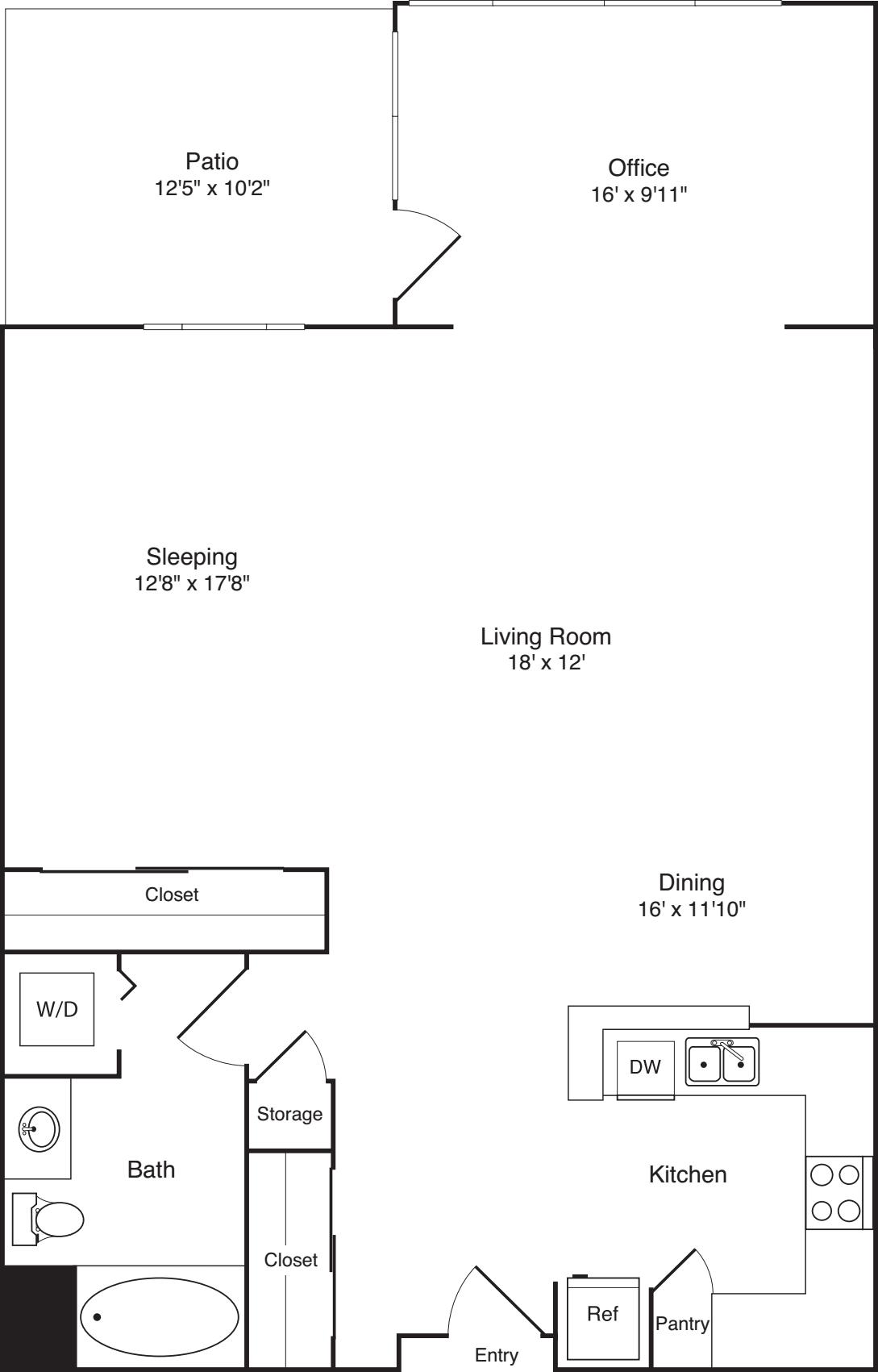 Live/work loft (N)