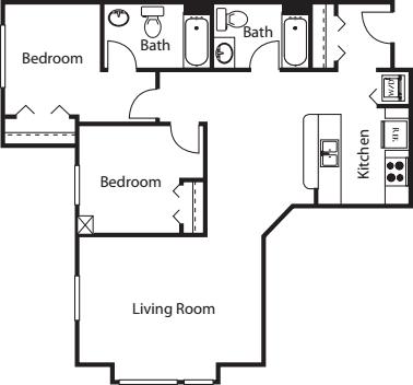 2 Bedroom G3