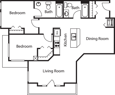 2 Bedroom GG