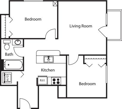 2 Bedroom N