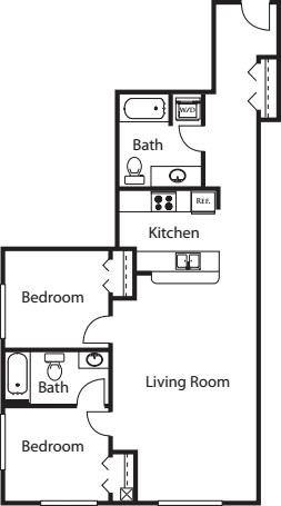 2 Bedroom X2