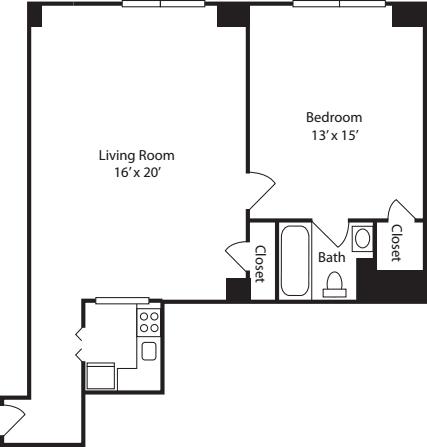 Plan L- no balcony