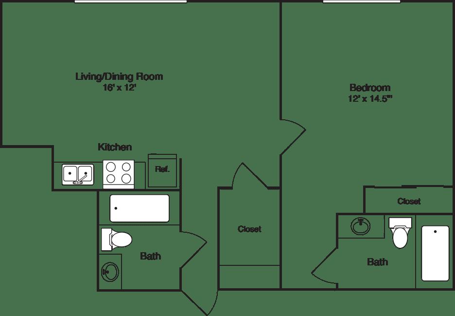 Plan D - Floor 10