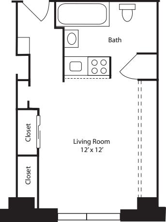 Plan E- 6th Floor