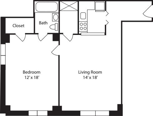Plan F- 11th Floor