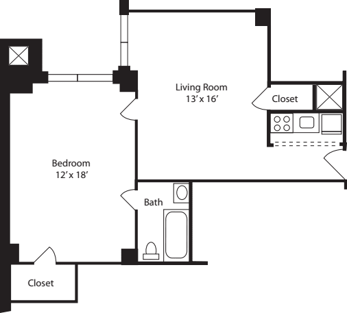 Plan F- 12th Floor