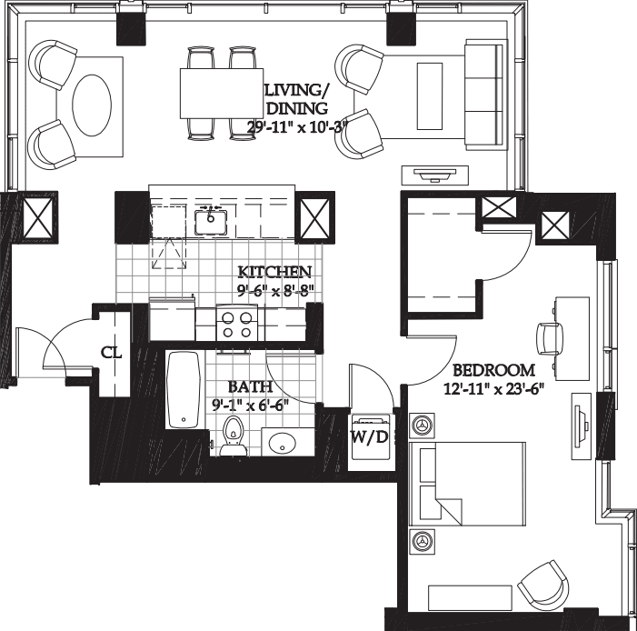 Asteria One Bedroom (2)