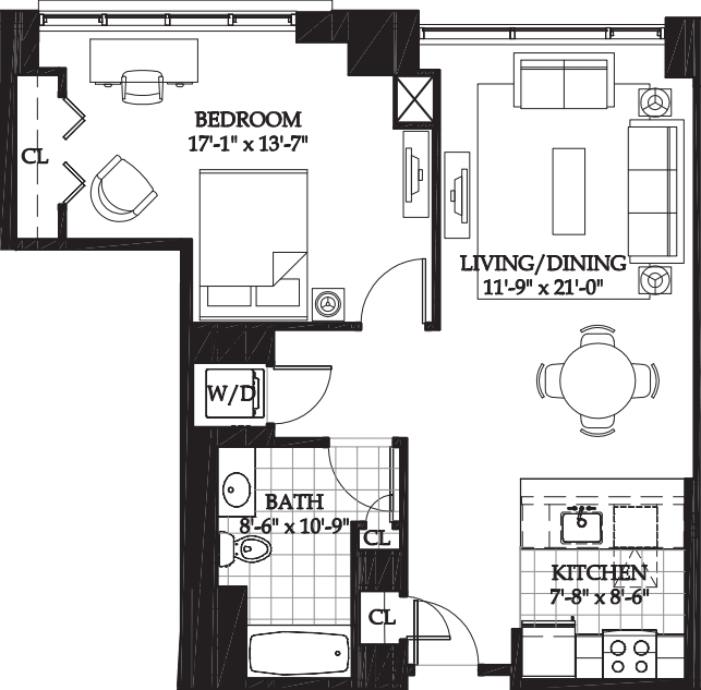 Asteria One Bedroom (3)