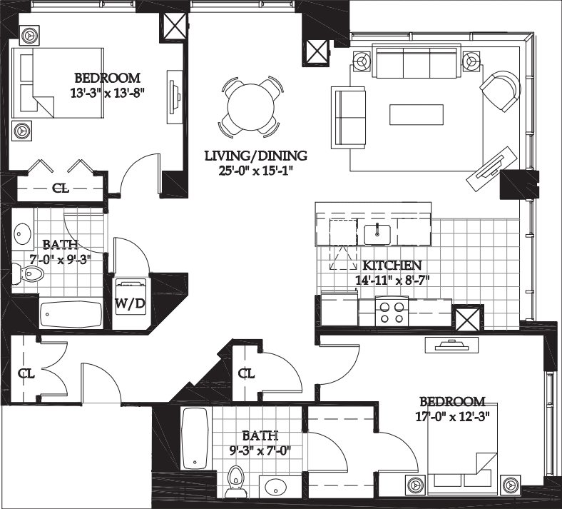 Asteria Two Bedroom (3)