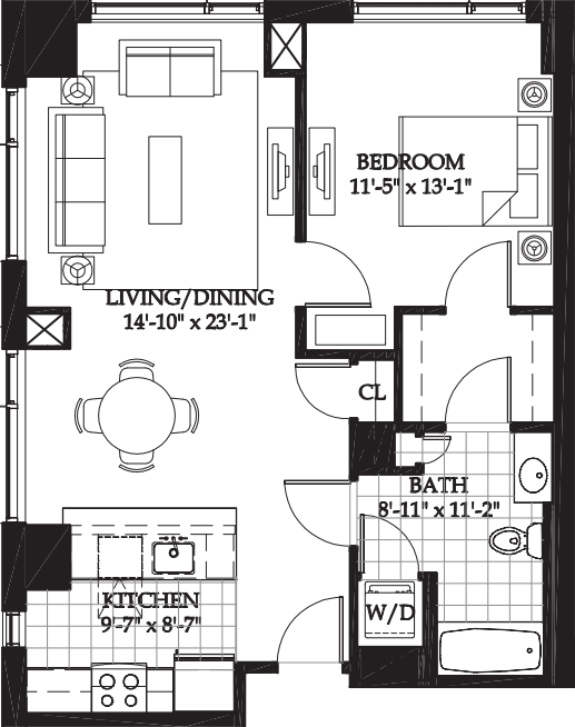 Asteria One Bedroom (4)