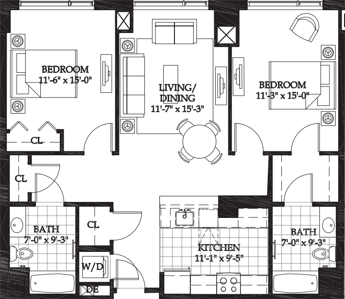 Asteria Two Bedroom (4)