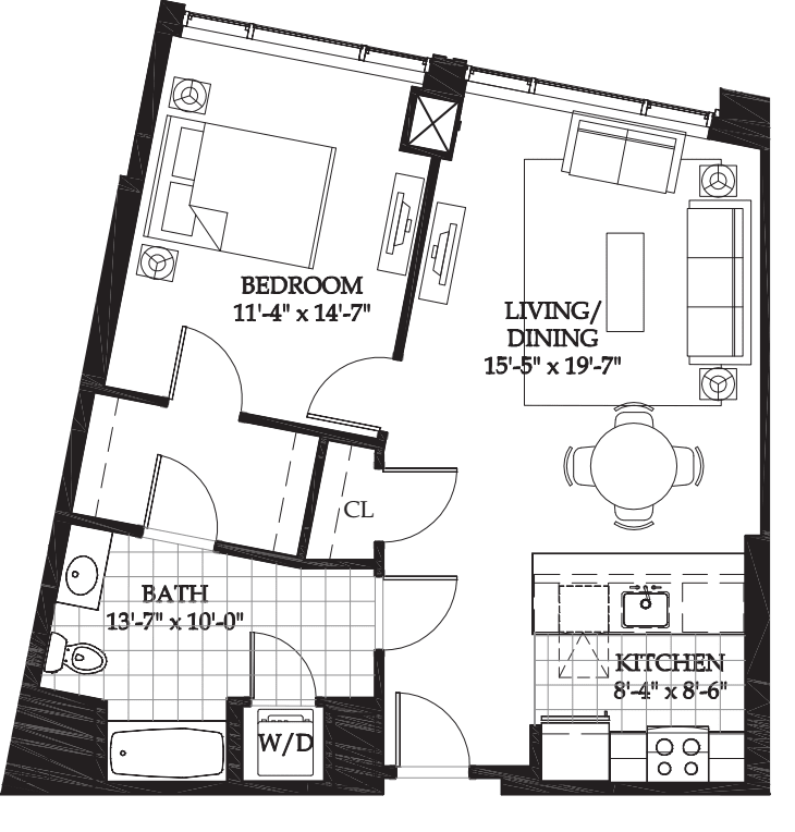 Asteria One Bedroom (5)