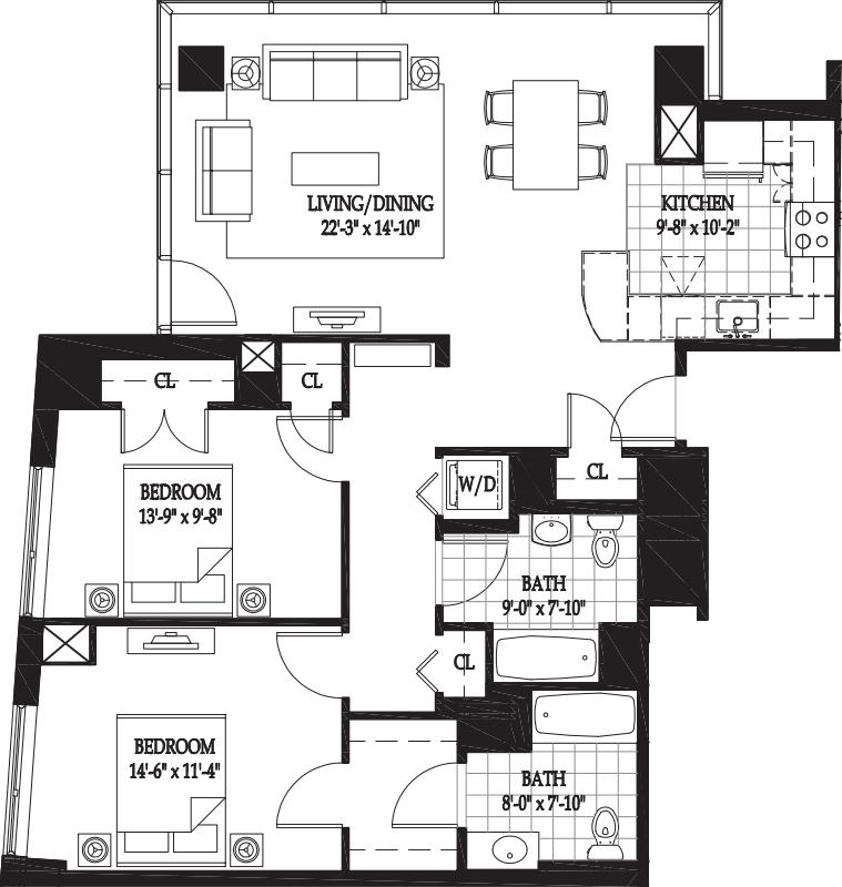 Vesta Two Bedroom (1)