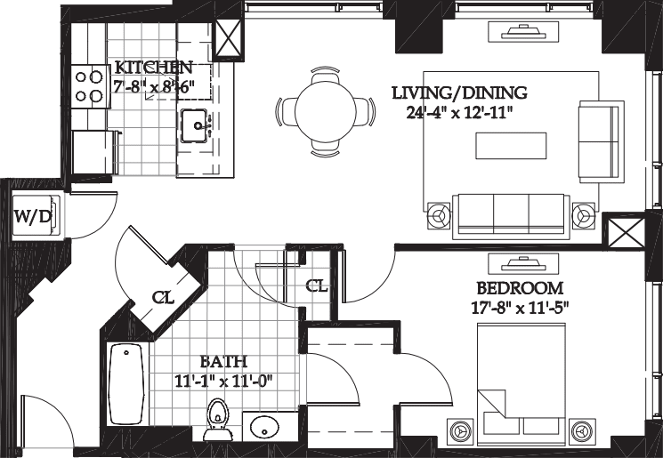 Asteria One Bedroom (1)