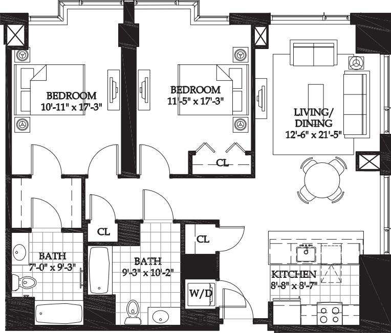 Asteria Two Bedroom (1)