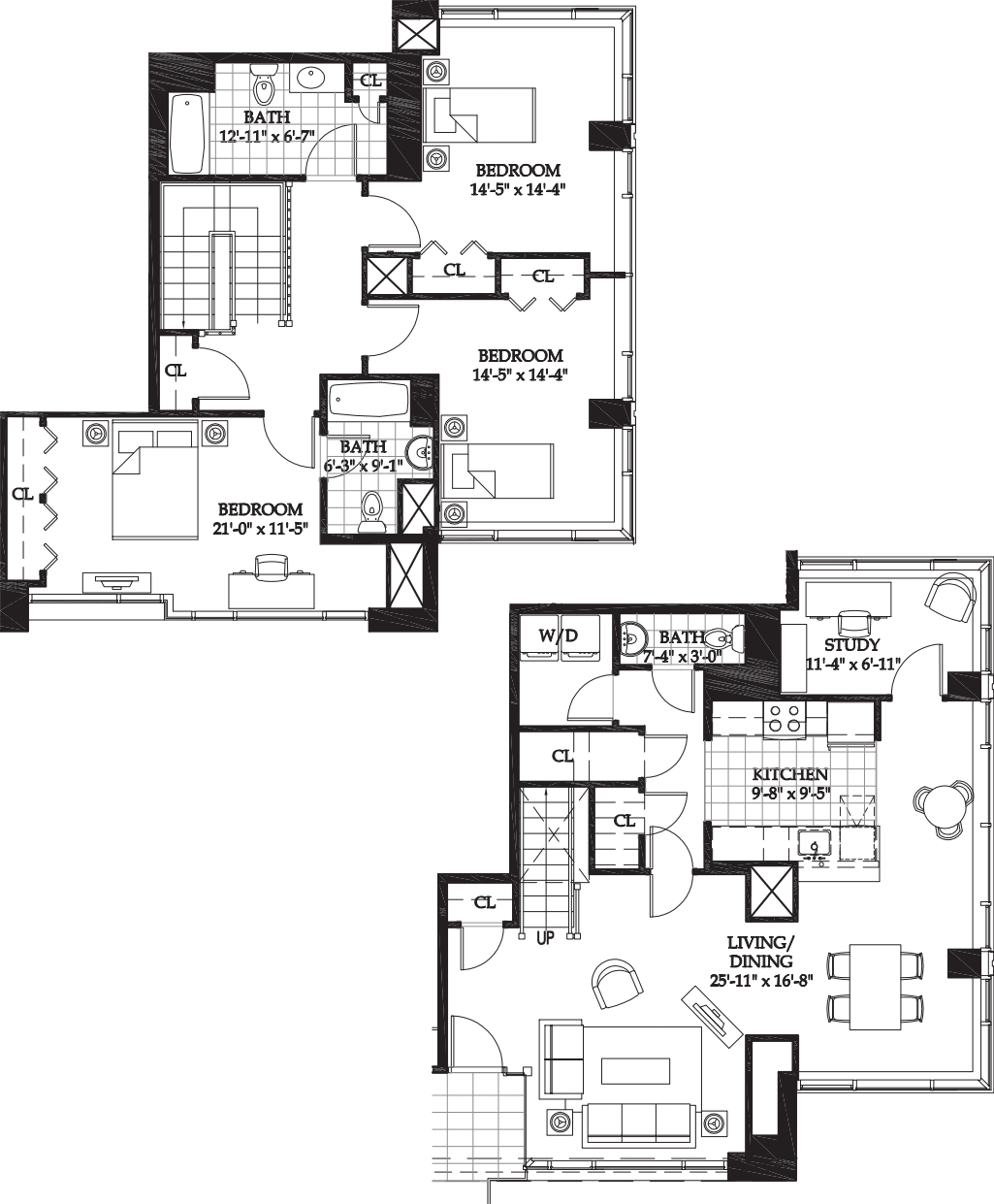 Asteria 3 BR Townhome