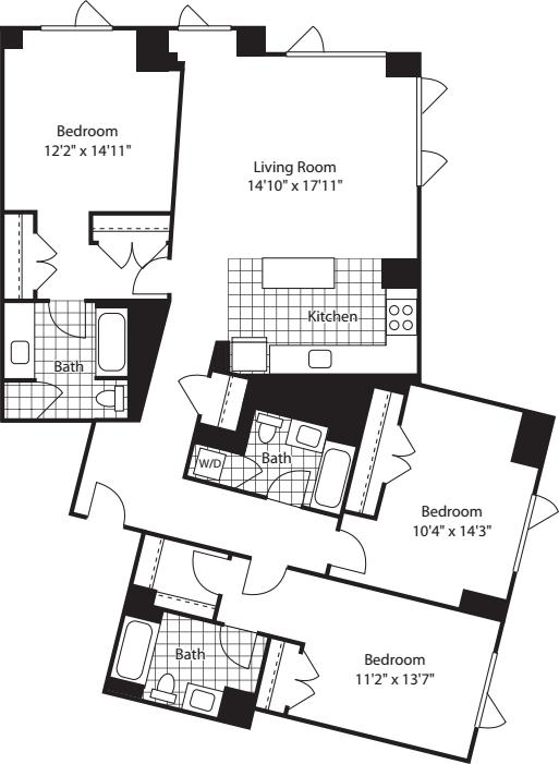 3 Bed (North) - 1651