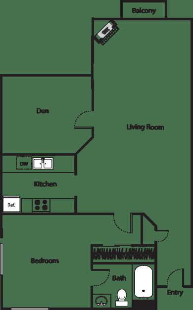Floorplan 3 w/ Den