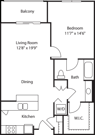 One Bedroom 794