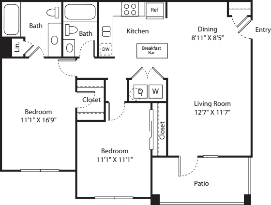 Two Bed B-2 - Phase II