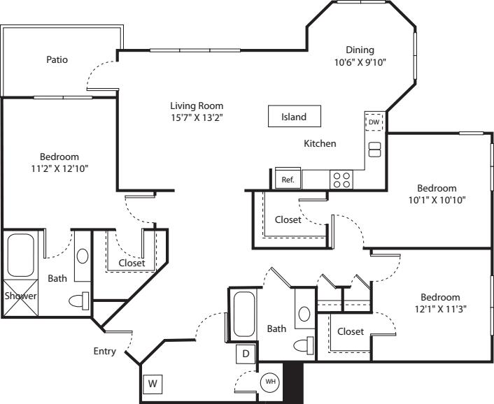 Three Bed C-1 - Phase II