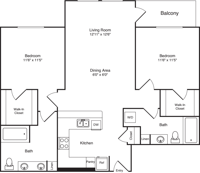 Two Bed B-3 - Phase III
