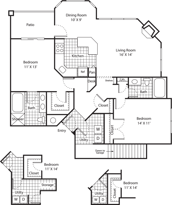Two Bed B-4 - Phase I