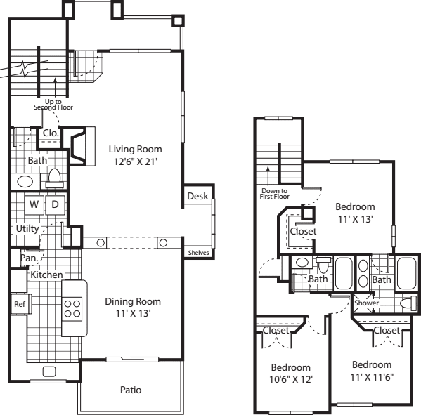 Three Bed C-2 - Phase I