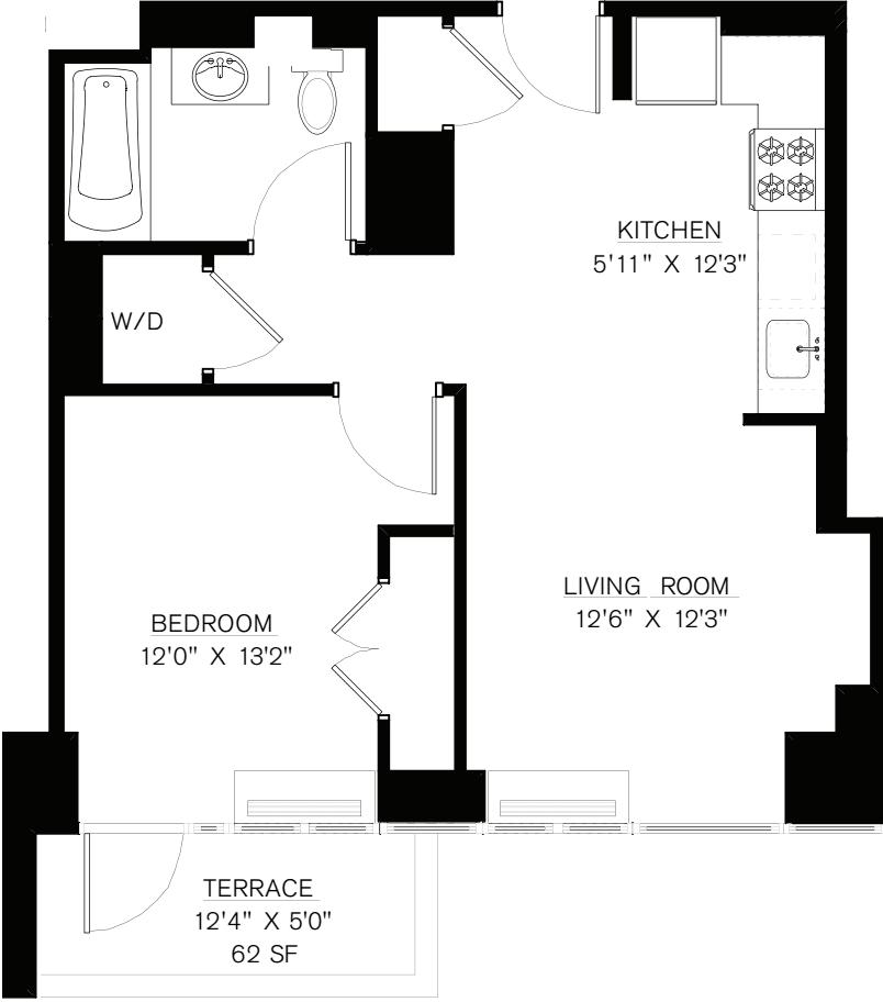 7K (Terrace 62sf)