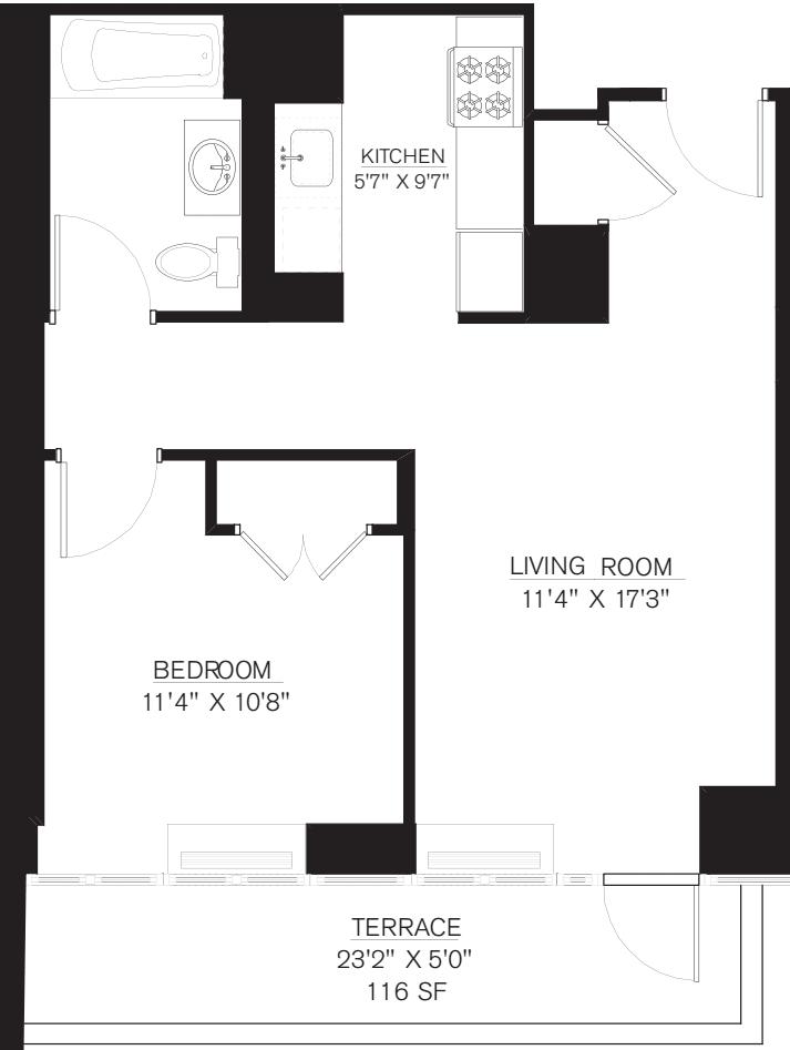 8L (Terrace 116sf)