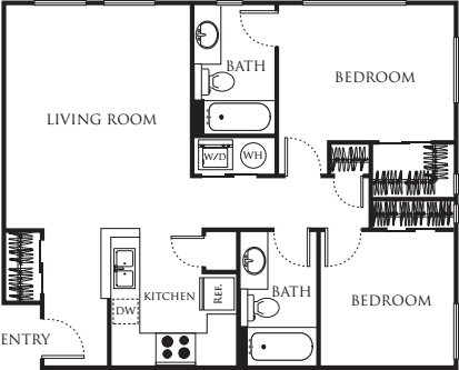 Two Bedroom 854