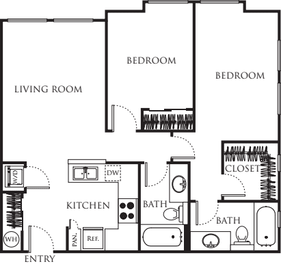 Two Bedroom 876