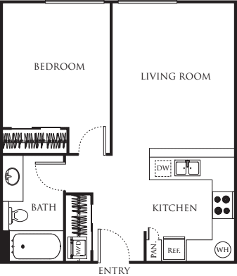 One Bedroom 510