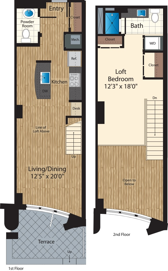 One Bedroom A 891