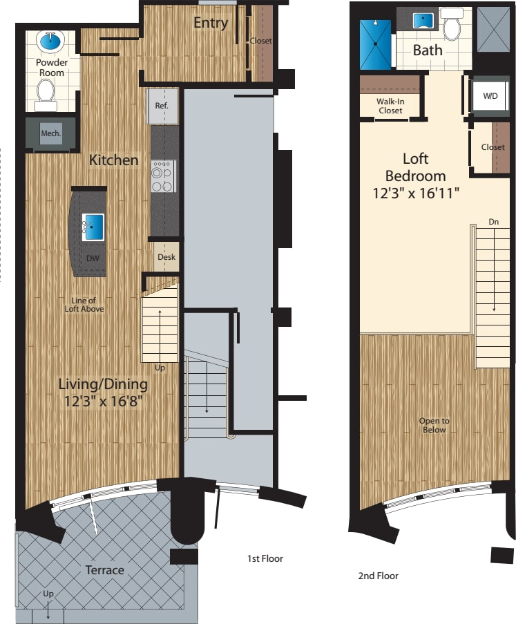 One Bedroom B/907
