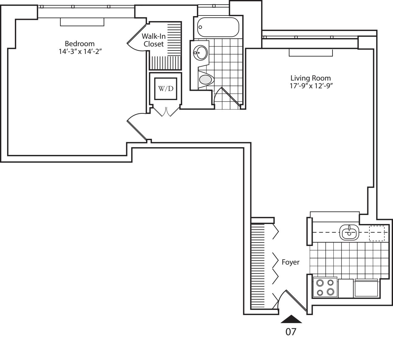 Residence 07 Floors 16-20