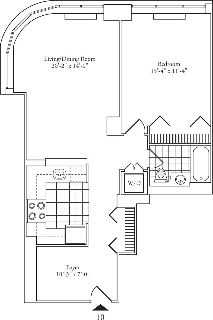 Residence 10 floors 5-15