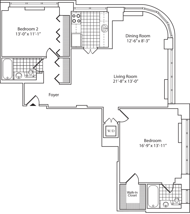 Penthouse 1A and 2A