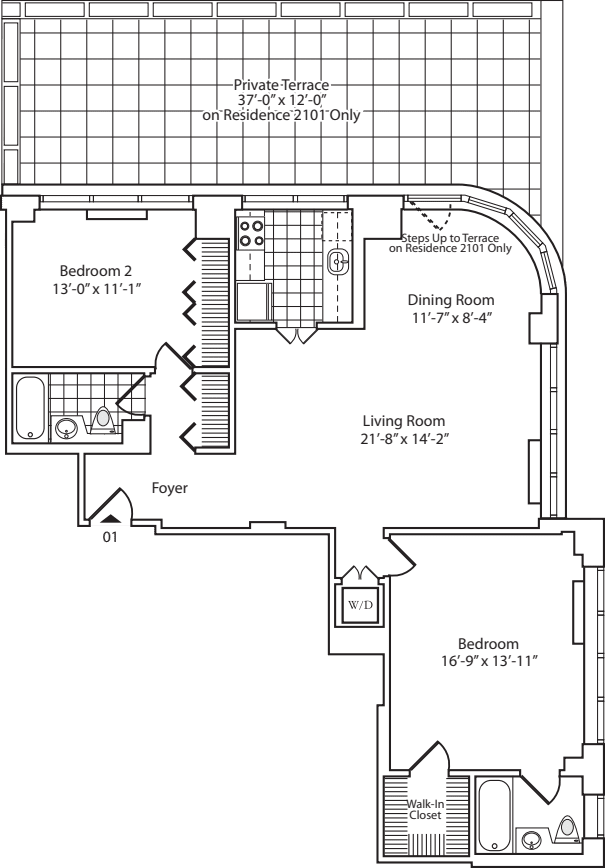 Residence 01 Floor 21
