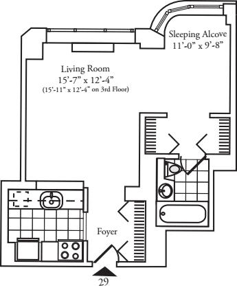 Residence 29 floors 7-8