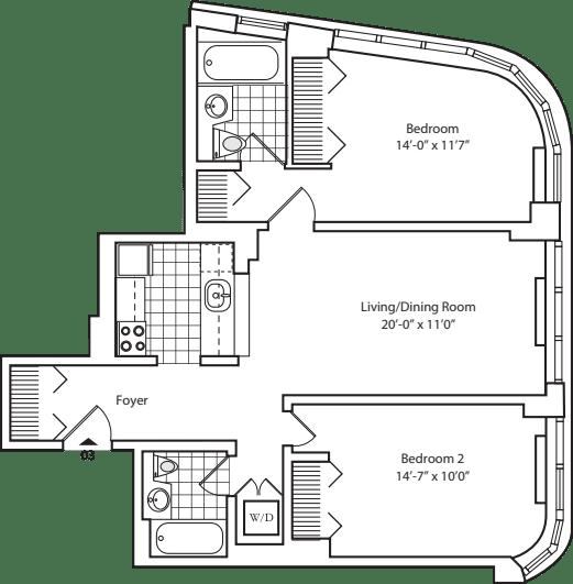 Residence 03 floors 6-8