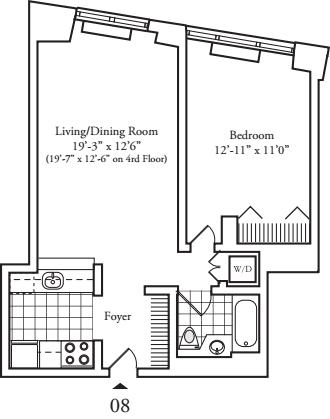 Residence 08 Floors 3-8