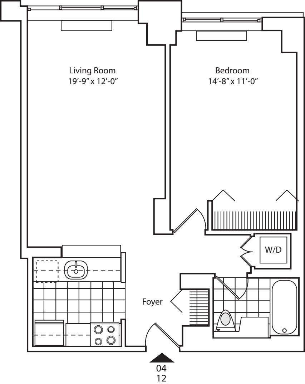 Residence 04 Floors 16-20