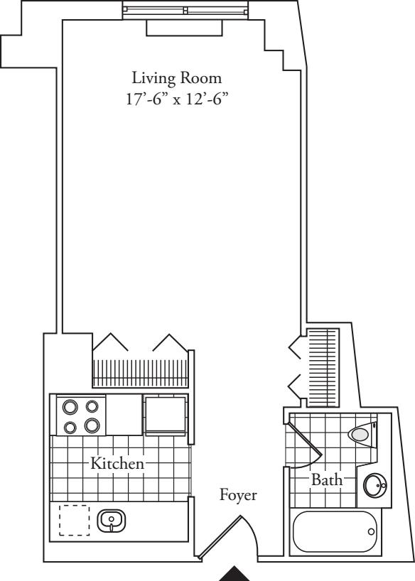 Residence 08, floors 3-6