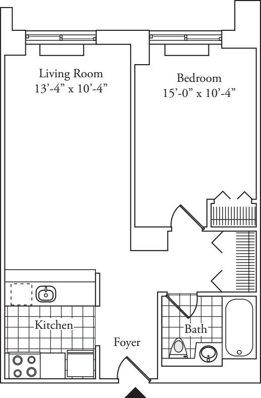 Residence 07, floors 3-6