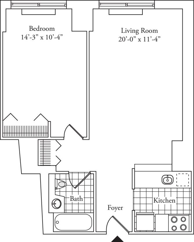 Residence 09, Floors 3-6