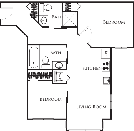Micro Two Bed - F1 220
