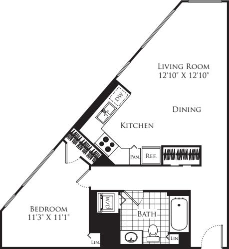 1 Bedroom FP 27