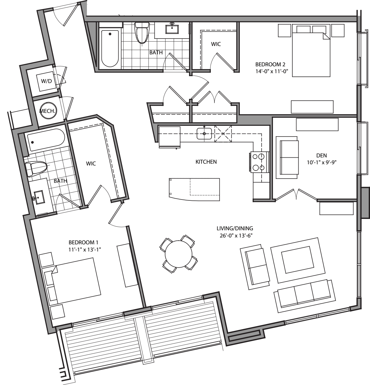 Equity Apartment: 2201 Pershing Apartments In Courthouse, Arlington